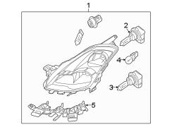 Nissan Xterra Harness. Headlight Wiring Harness. Front