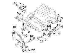 Nissan Maxima Temperature. Sensor. Oil. Engine. Coolant