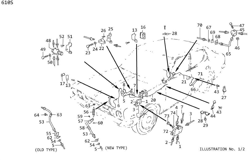 Nissan 300ZX Bolt Hex Head. Cover Oil Pump. Fan & Water