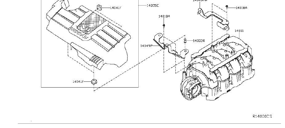 Nissan Titan Fuel Injection Throttle Body Mounting Gasket