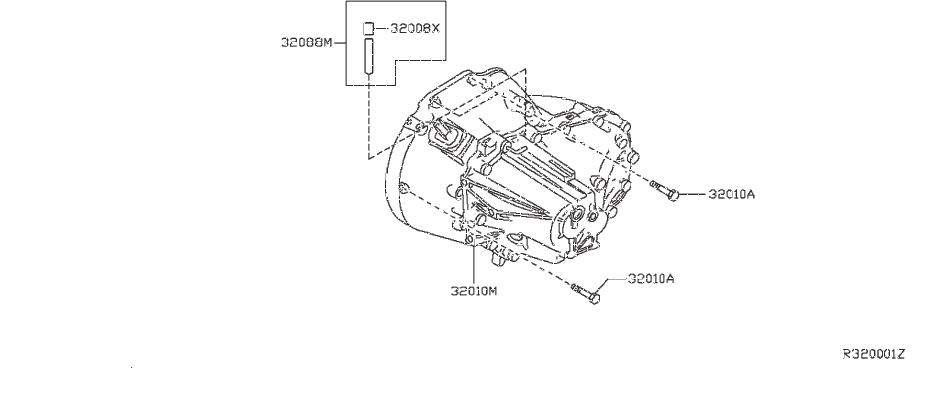 Nissan Sentra Breather. FITTING, ASSEMBLY, TRANSMISSION