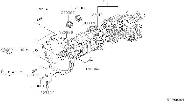 [DIAGRAM] Nissan Frontier Manual Transmission Diagram FULL
