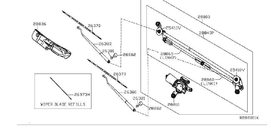 Nissan Titan Blade Windshield Wiper NO 1. Value Advantage