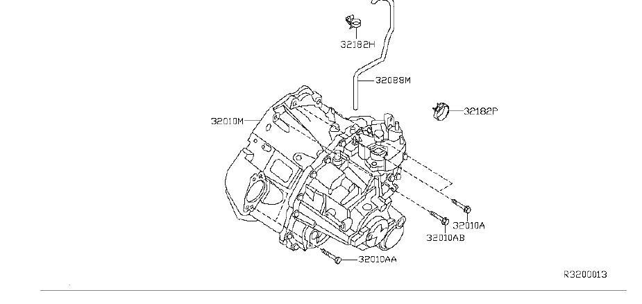 Nissan Altima Manual Transaxle. TRANSMISSION, FITTING