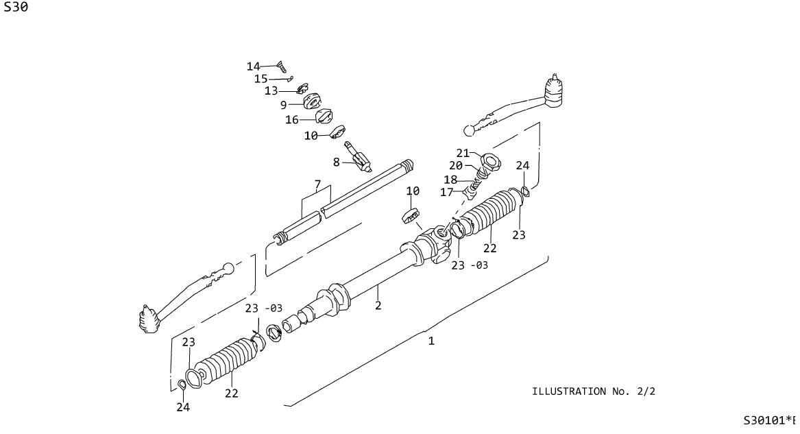Datsun 310GX Ring Snap, Pinion Bearing Inner. Ring Snap