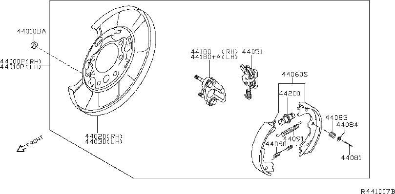 Nissan Murano Disc Brake Caliper Guide Pin Bolt. Disc