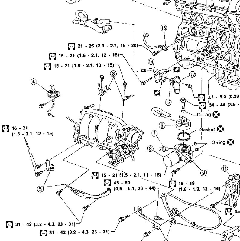 Nissan sr20 exploded diagram