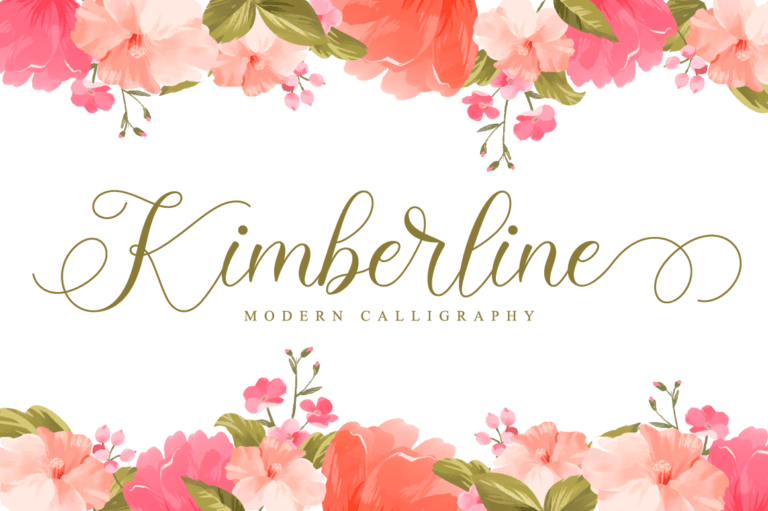 Preview image of Kimberline Script