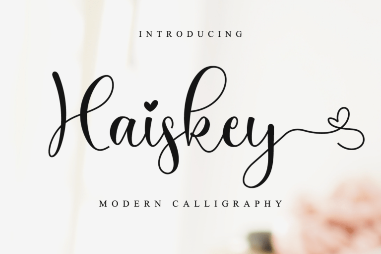 Preview image of Haiskey Script