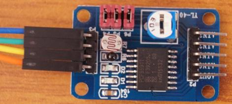 PCF8591 ADC and DAC SPI