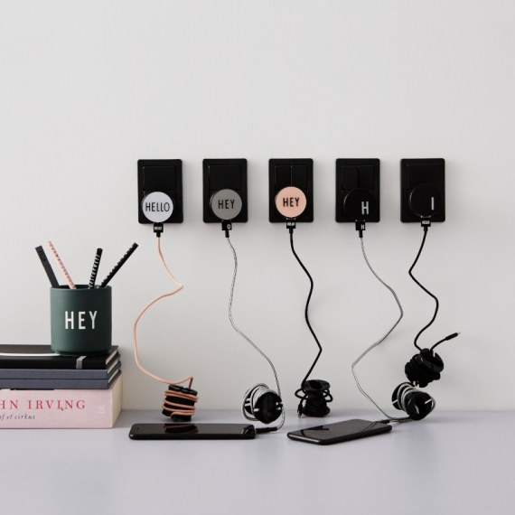 Lade Charger - HEY grau von Design Letters