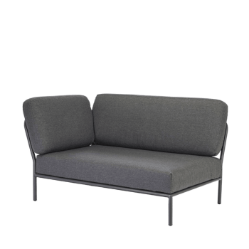 Lounge Sofa - Level links grey von Houe