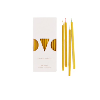 Kerzen Bienenwachs - Mini Birthday Candles von OVO Things