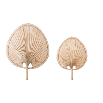 Wall Decor - Palm leaf natur von Bloomingville