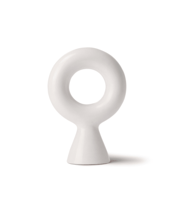 Chulucanas object - Circle on base weiss von HK Living