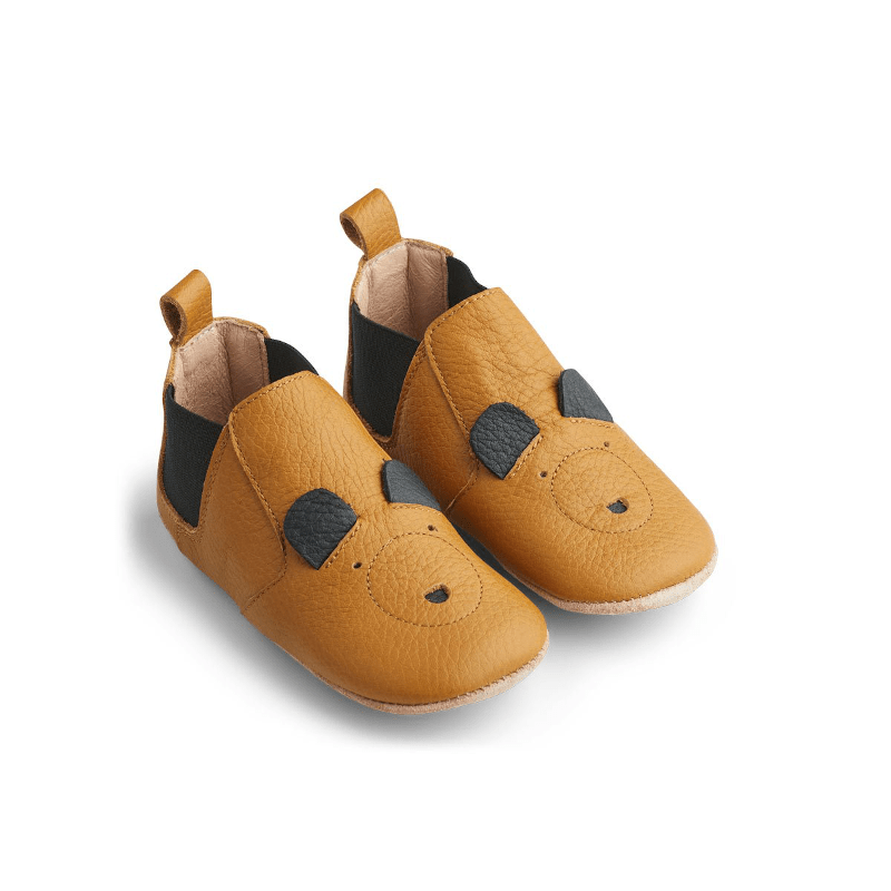Slippers - Edith Mr Bear mustard von Liewood