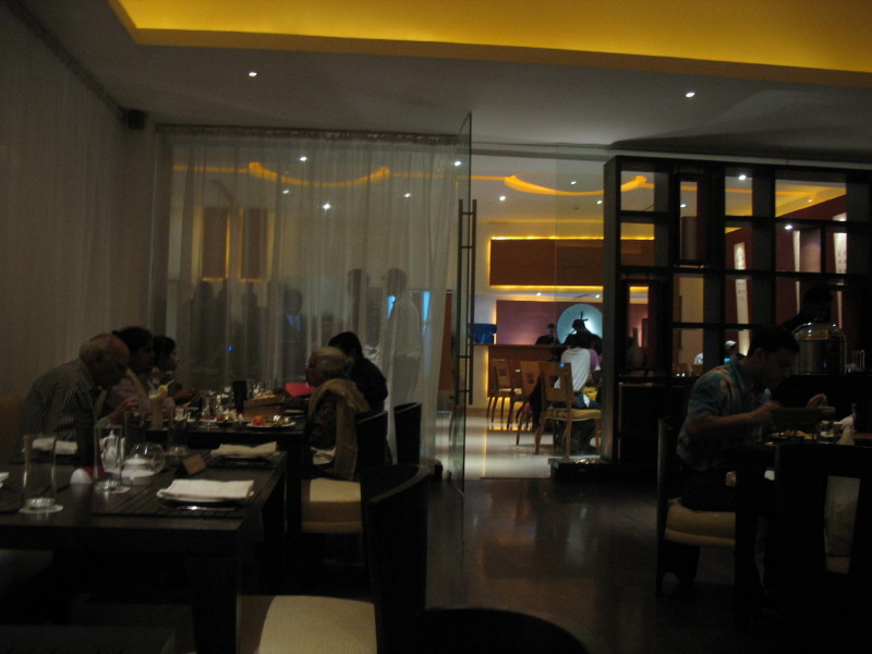MainLand China Pune  restaurant review  A wide angle view of India