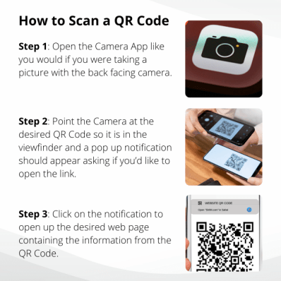 how to scan a qr code
