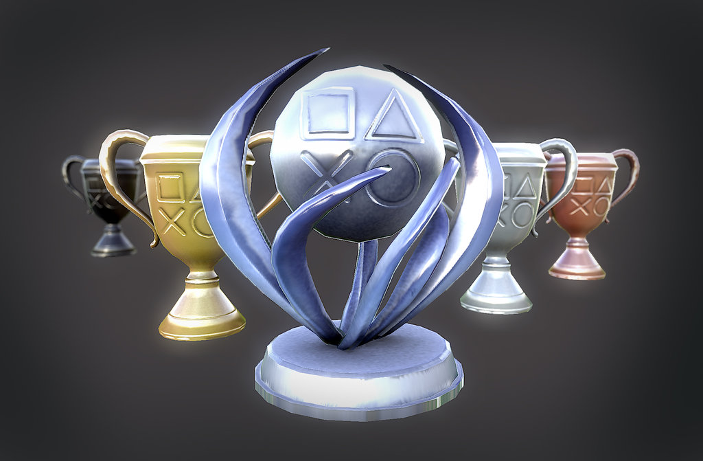 lowpoly_playstation_trophies_by_kaikun2236-d6co2r0