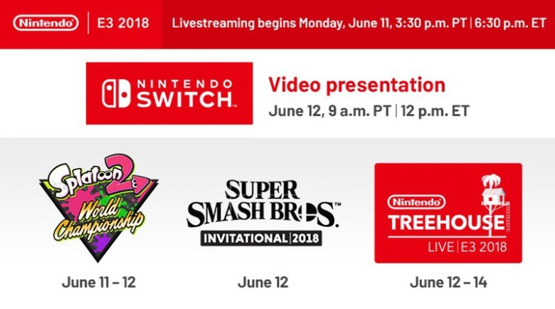 E3 2018 Conference Dates and Times