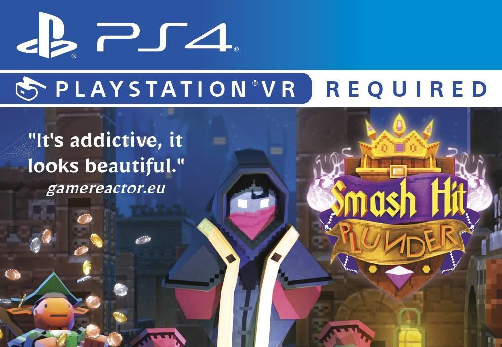 PS VR Multiplayer Game Smash Hit Plunder