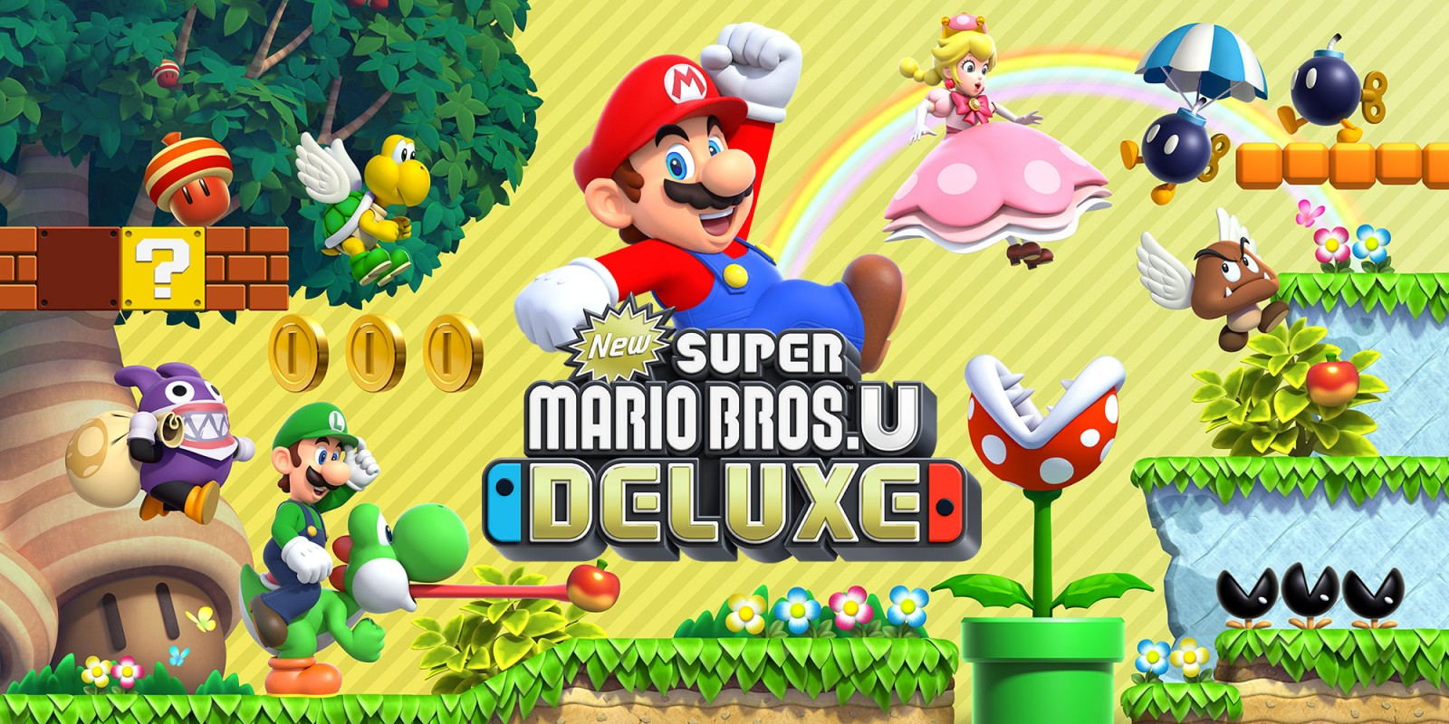 New Super Mario Bros. U Deluxe – 15 Minutes With The 'Infamous' Peachette