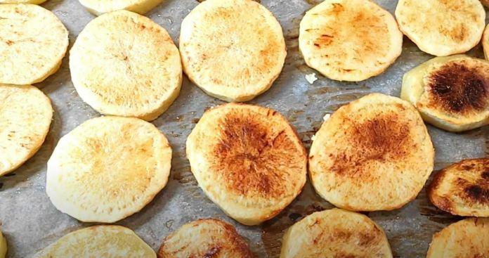 flip potatoes