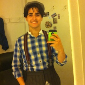 Giuseppe in Newsies 2 years ago