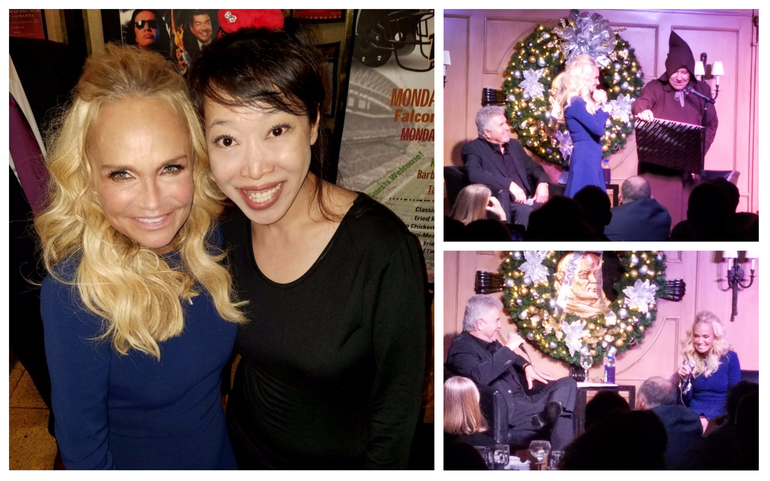 Honored to meet & video Steve Tyrell's interview of Grammy/Emmy award winning star,  Kristin Chenoweth, her induction into the Friar's Club and her subsequent FABULOUS performance!  What A TREAT!