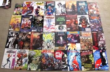 The comics I picked up at FCBD 2015