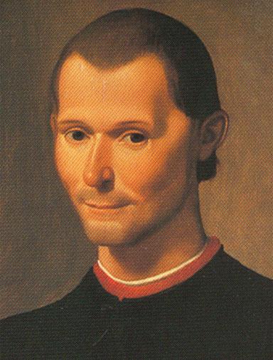 31 वर्षीय निकोलो माक्यावैली सन् 1500 में