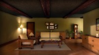 SN House  Living Room Early Evening | Nitin