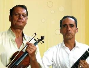 Guilherme Bedran e Fernando Bittencourt no Bistrô MAC