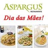 Aspargus abre especialmente no Dia das Mães