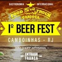 1ª Edição do Beer Fest em Camboinhas