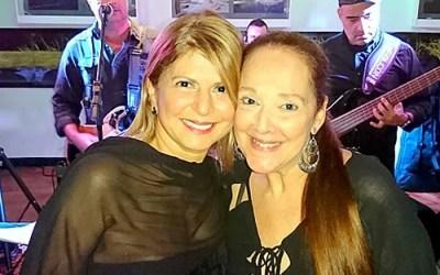 Niver Valéria Hage e Mônica Nemer no Bistrô Mac