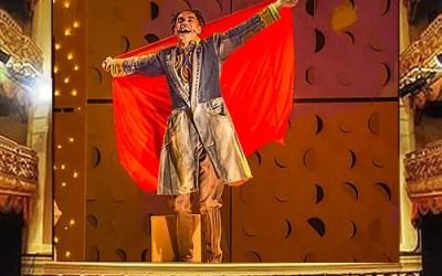 O Pequeno Príncipe Preto atração do Teatro Municipal de Niterói