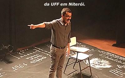 "Espetáculo ""O Substituto"" no Teatro da UFF"