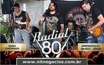 Festival Rock 80 na comemoração do aniversário da cidade