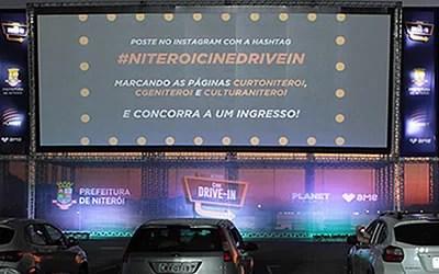 Programação variada no Niterói Cine Drive In