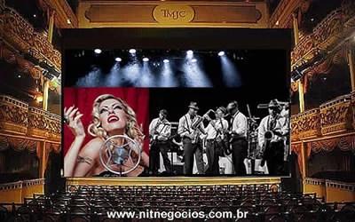 Rio Jazz Orchestra com Taryn Szpilman no Municipal