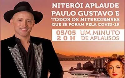 Niterói presta homenagem ao ator Paulo Gustavo