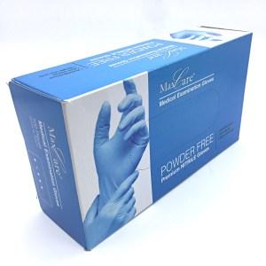 MaxCare Nitril Handschuhe Blue ist ein hochwertiges Produkt für den medizinischen und schützenden Einsatz.