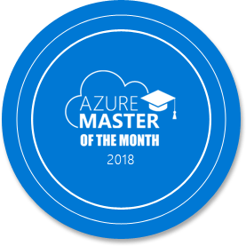 Azure Master of the month, December 2018
