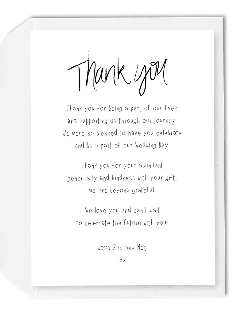 Best Thank You Messages for Attending Our Wedding