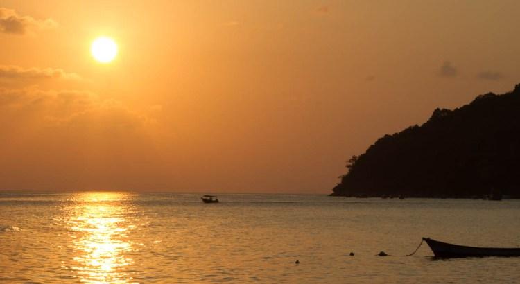 Atardecer en las islas Perhentian