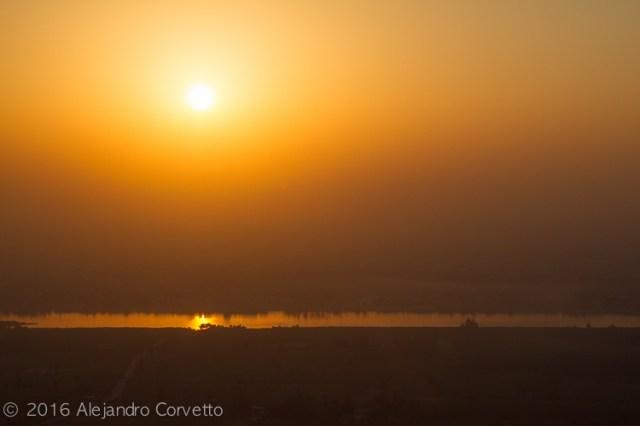 Luxor Nile sunrise