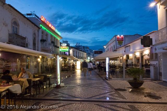 Albufeira city center