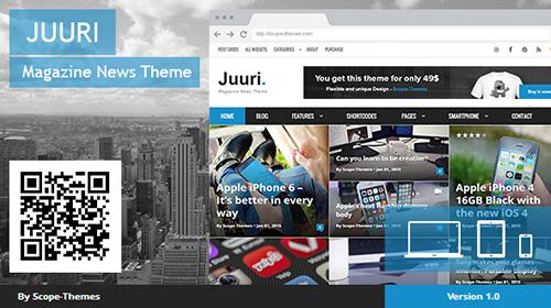 Mojo-Themes - Juuri v1.1.4 - Magazine and News WordPress Theme