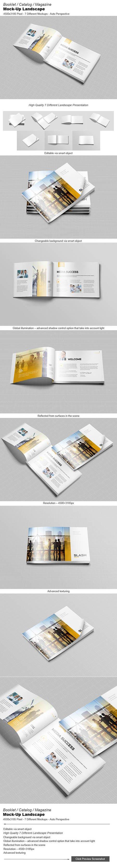 CM - Booklet / Catalog / Mock-Ups 348924